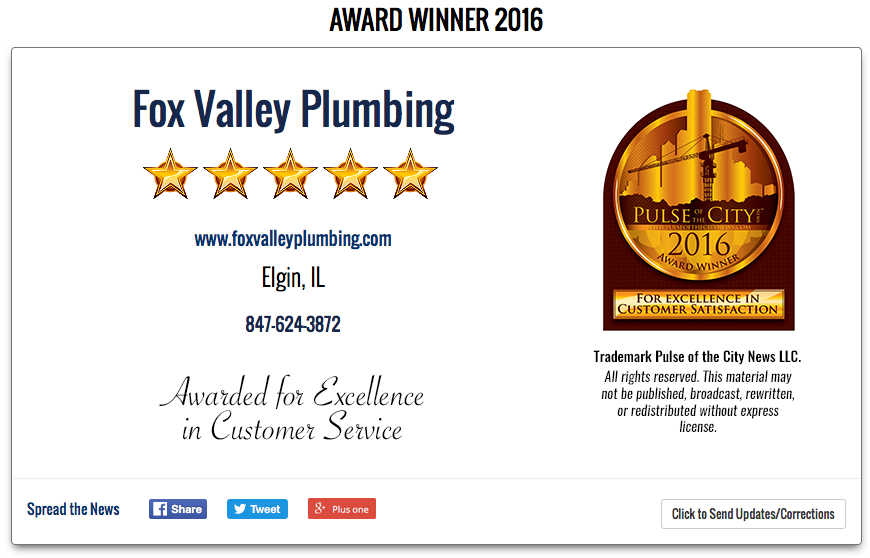 fox-valley-plumbing-2016-award-in-elgin-il