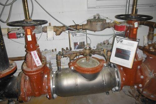 commercial backflow plumbing