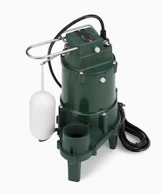 Zoeller 0.5-HP 115-Volt Cast Iron Sewage Sump Pump in Elgin, IL