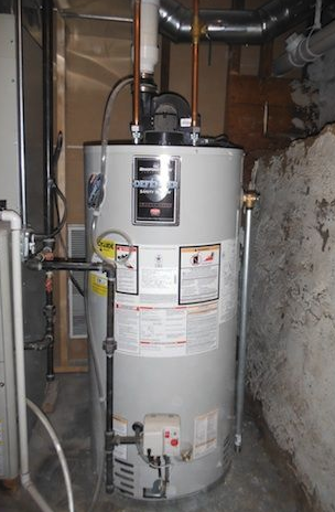 High Efficiency Bradford-White Water Heater Installation