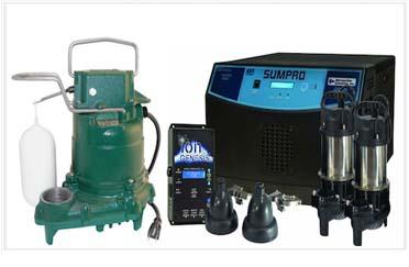 sump-pump and ejector-pump